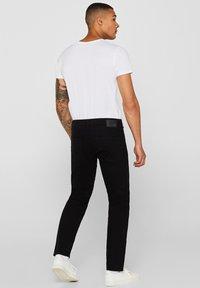 edc by Esprit - Slim fit jeans - black rinse - 1