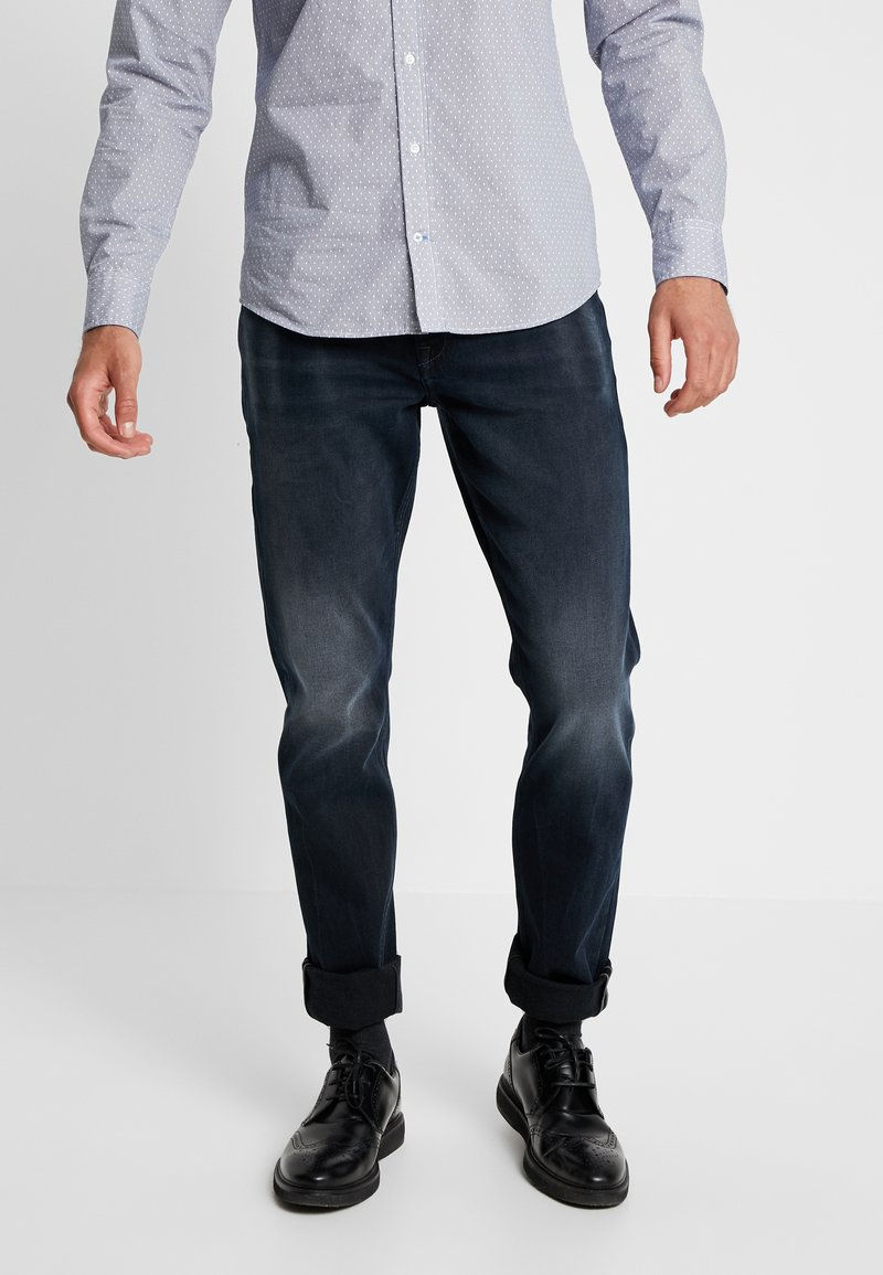 edc by Esprit - Džíny Slim Fit - blue dark wash