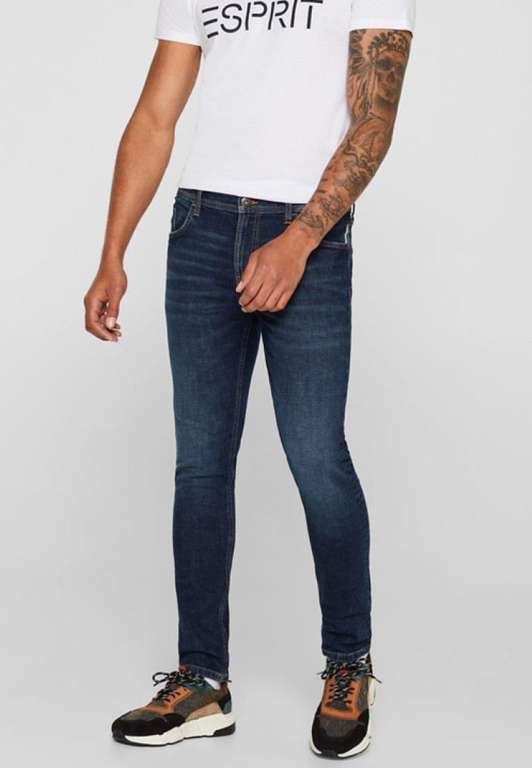 edc by Esprit - Straight leg jeans - dark blue