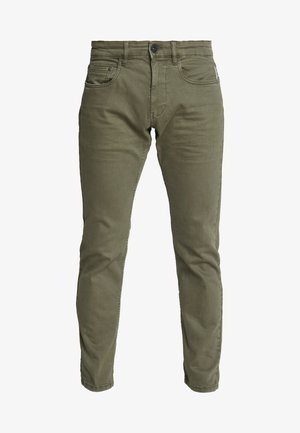 Džíny Slim Fit - dark khaki