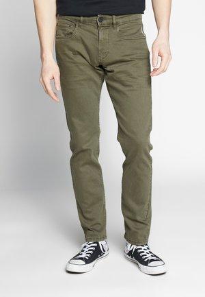 Jeans slim fit - dark khaki