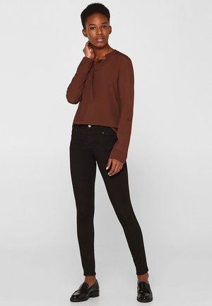 MIT BI-STRETCH - Jeans Skinny Fit - black