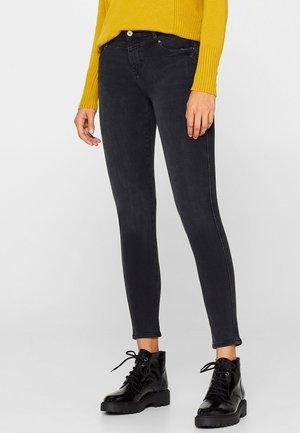 MIT BI-STRETCH - Jeans Skinny Fit - black denim