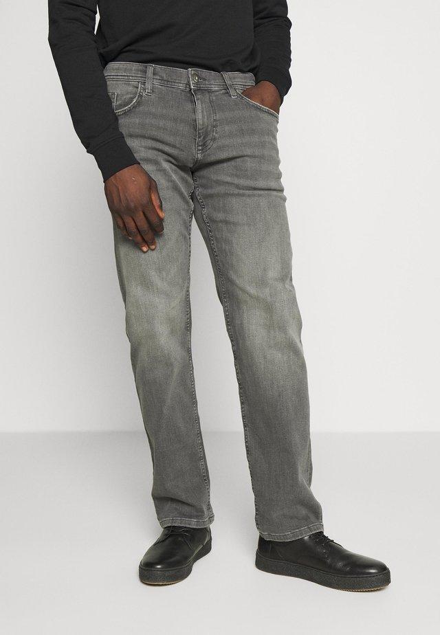 Jeans straight leg - grey medium wash