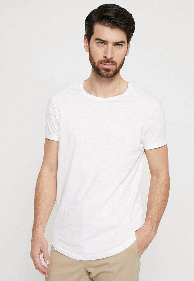 LONG TEE - T-Shirt basic - white