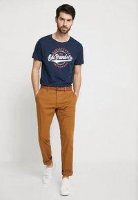 edc by Esprit - TEE - T-Shirt print - navy - 1