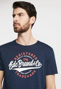 edc by Esprit - TEE - T-Shirt print - navy - 4
