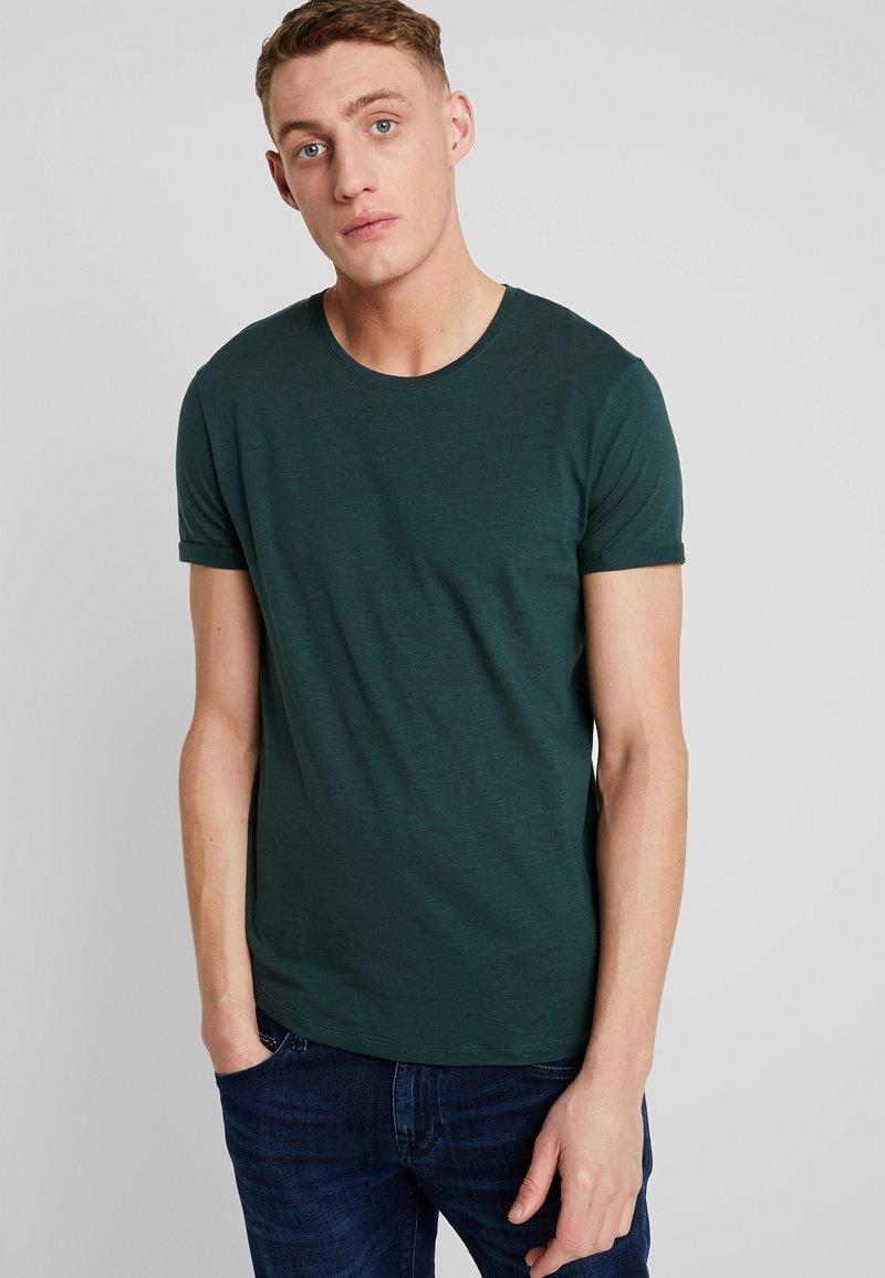 edc by Esprit - LONGER TEE - Basic T-shirt - teal blue
