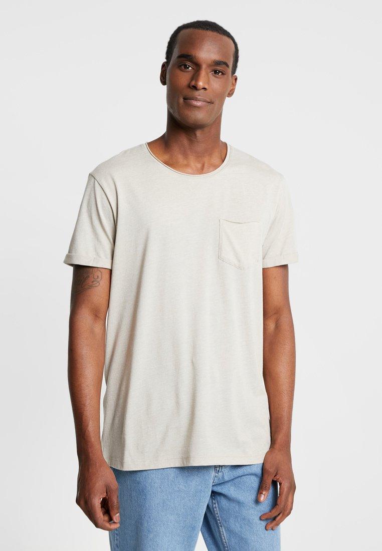 edc by Esprit - TEE  - T-shirt basic - sand