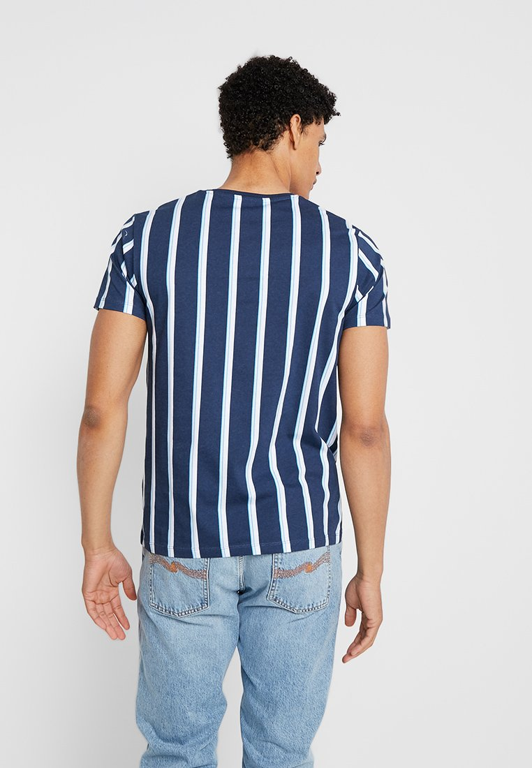 edc by Esprit STRIPE - T-shirt imprimé navy