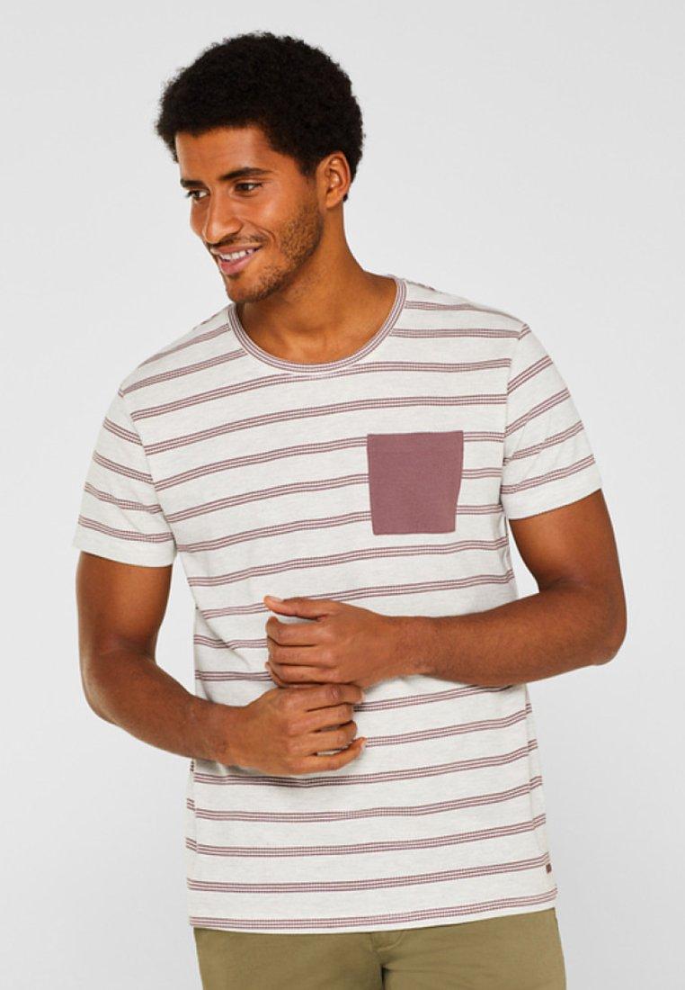 edc by Esprit - Print T-shirt - dark mauve
