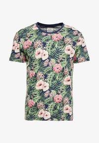 edc by Esprit - TEE - T-shirt med print - navy - 4