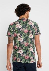 edc by Esprit - TEE - T-shirt med print - navy - 2