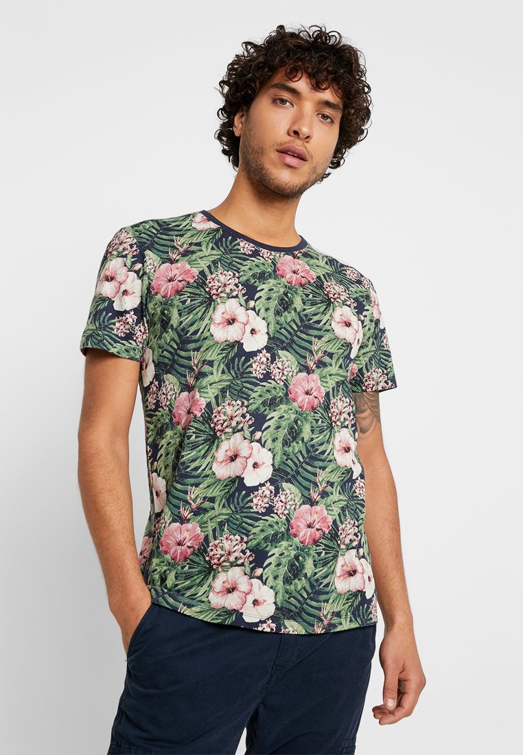 edc by Esprit - TEE - T-shirt con stampa - navy