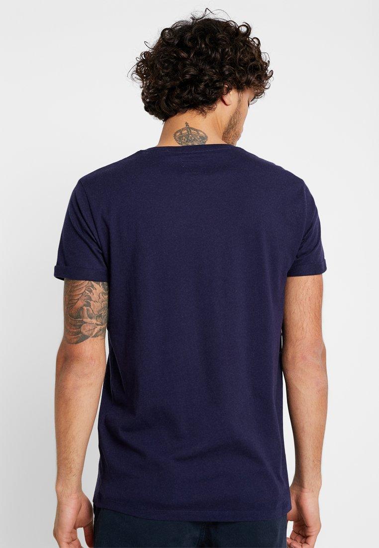 Imprimé Tee Edc By shirt PhotoT Esprit Navy OiXkPZu