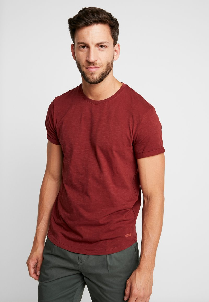 edc by Esprit - CORE TEE - T-Shirt basic - terracotta