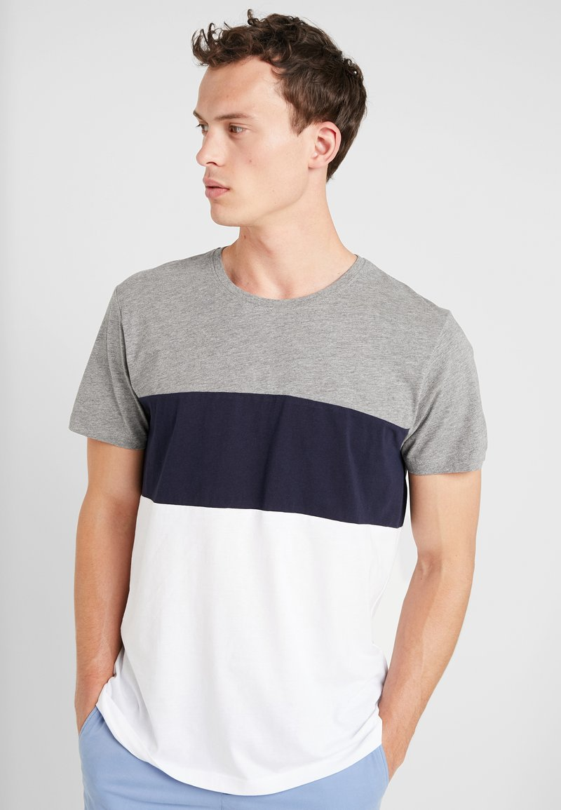 edc by Esprit - TEE - T-shirt z nadrukiem - medium grey