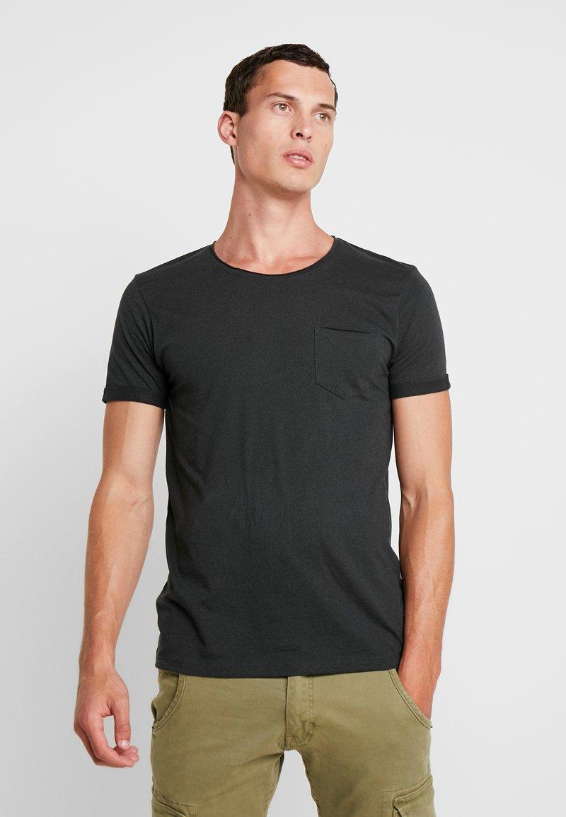 edc by Esprit - TEE - T-shirt basique - dark green