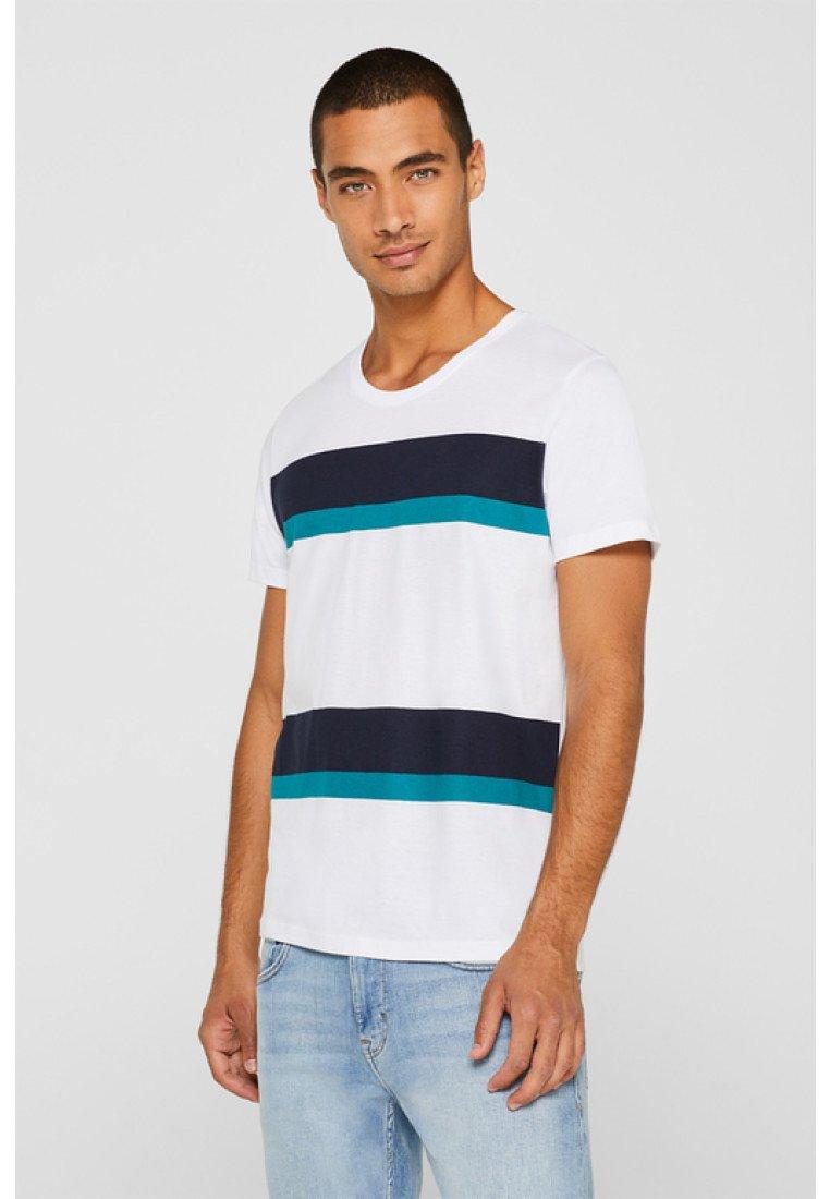 OcsT Imprimé White Esprit Edc Comp By shirt 76yvgbfY