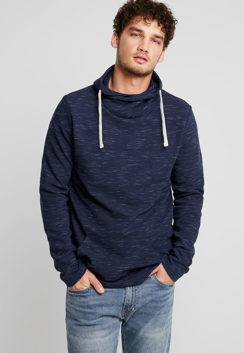 edc by Esprit - FUNNEL NECK TEE - T-shirt à manches longues - navy