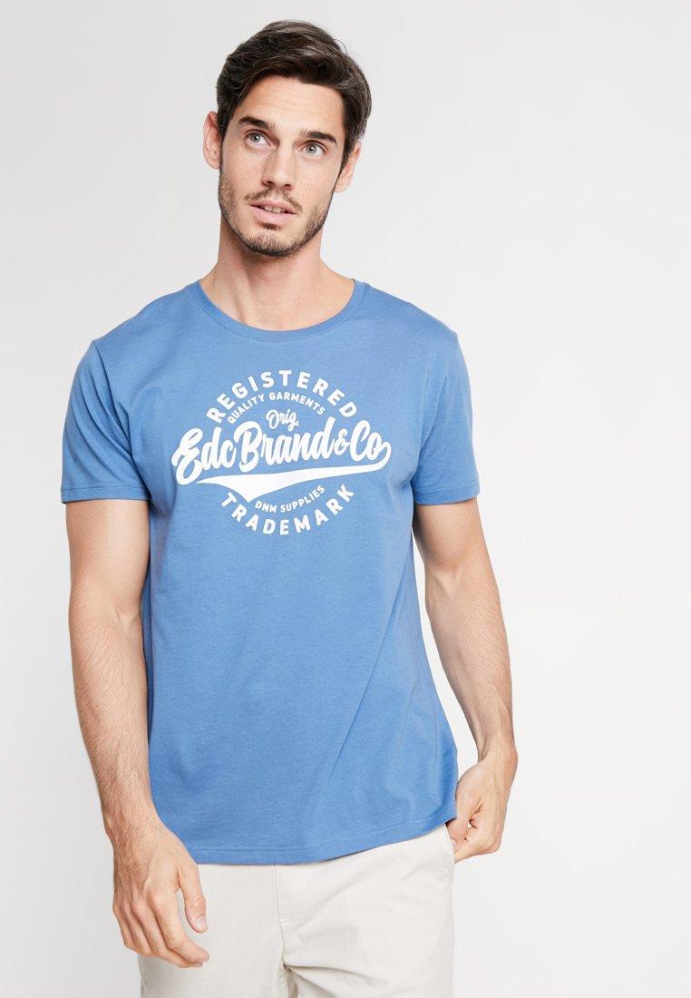 Imprimé shirt By Esprit Edc TeeT Blue cjAL534RqS