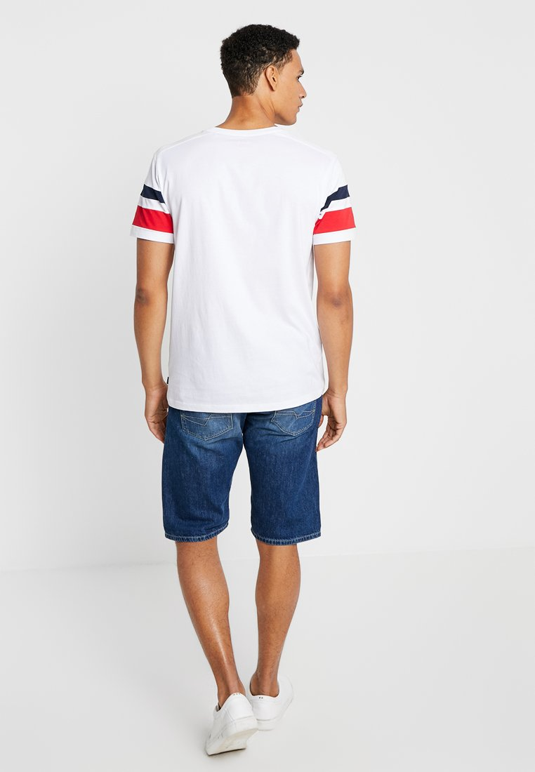 White Esprit Con Colorblock TeeT Edc By shirt Stampa R54A3jLq