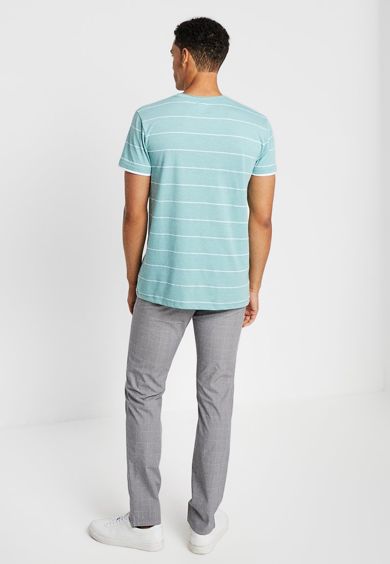 By Green TeeT Aqua Edc Esprit Stripe shirt Imprimé Light nwO8P0kX