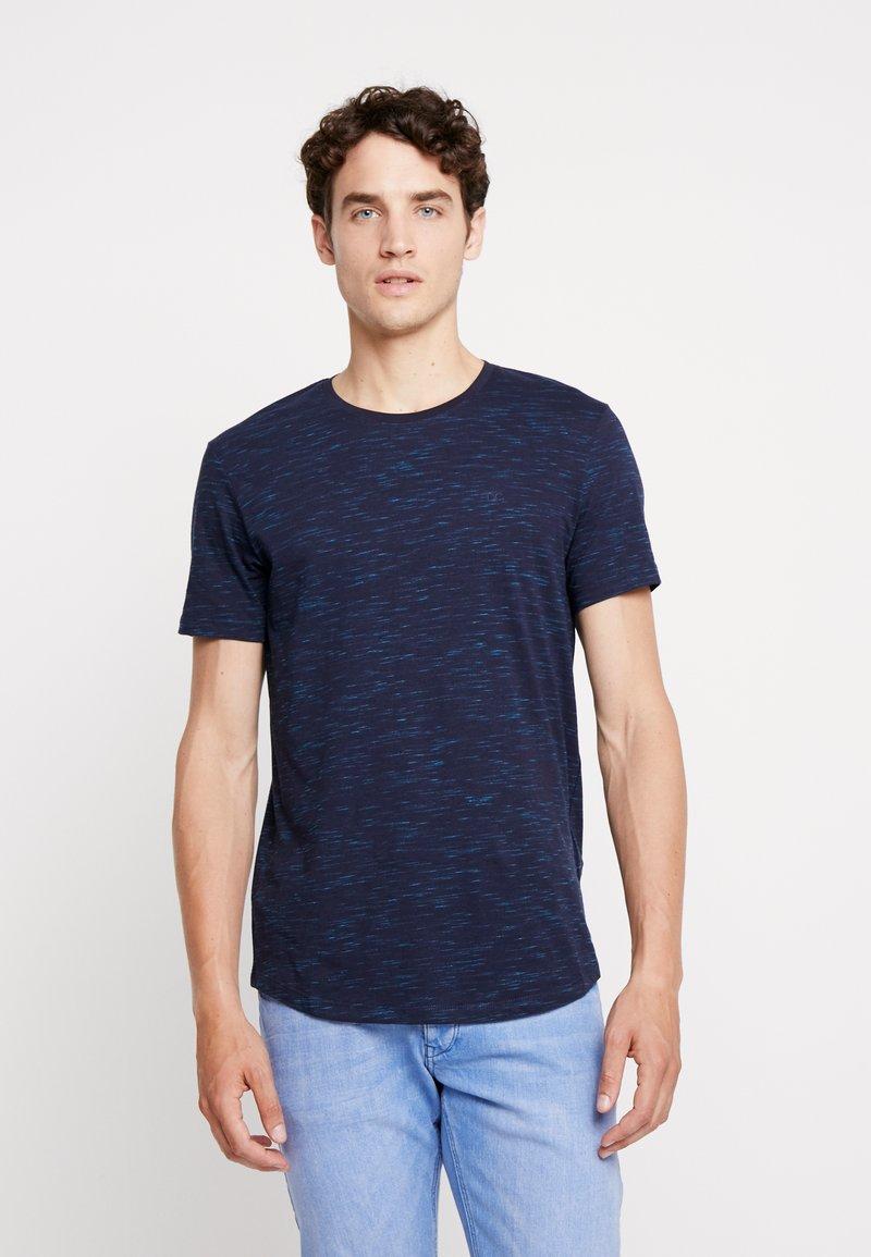 edc by Esprit - LONG SHAPE TEE - T-shirt basique - navy