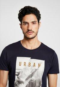 edc by Esprit - T-shirt print - navy - 4