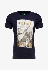 edc by Esprit - T-shirt print - navy - 3