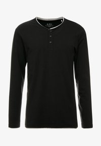 edc by Esprit - HENLY - Long sleeved top - black - 4
