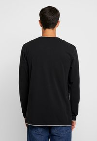 edc by Esprit - HENLY - Long sleeved top - black - 2