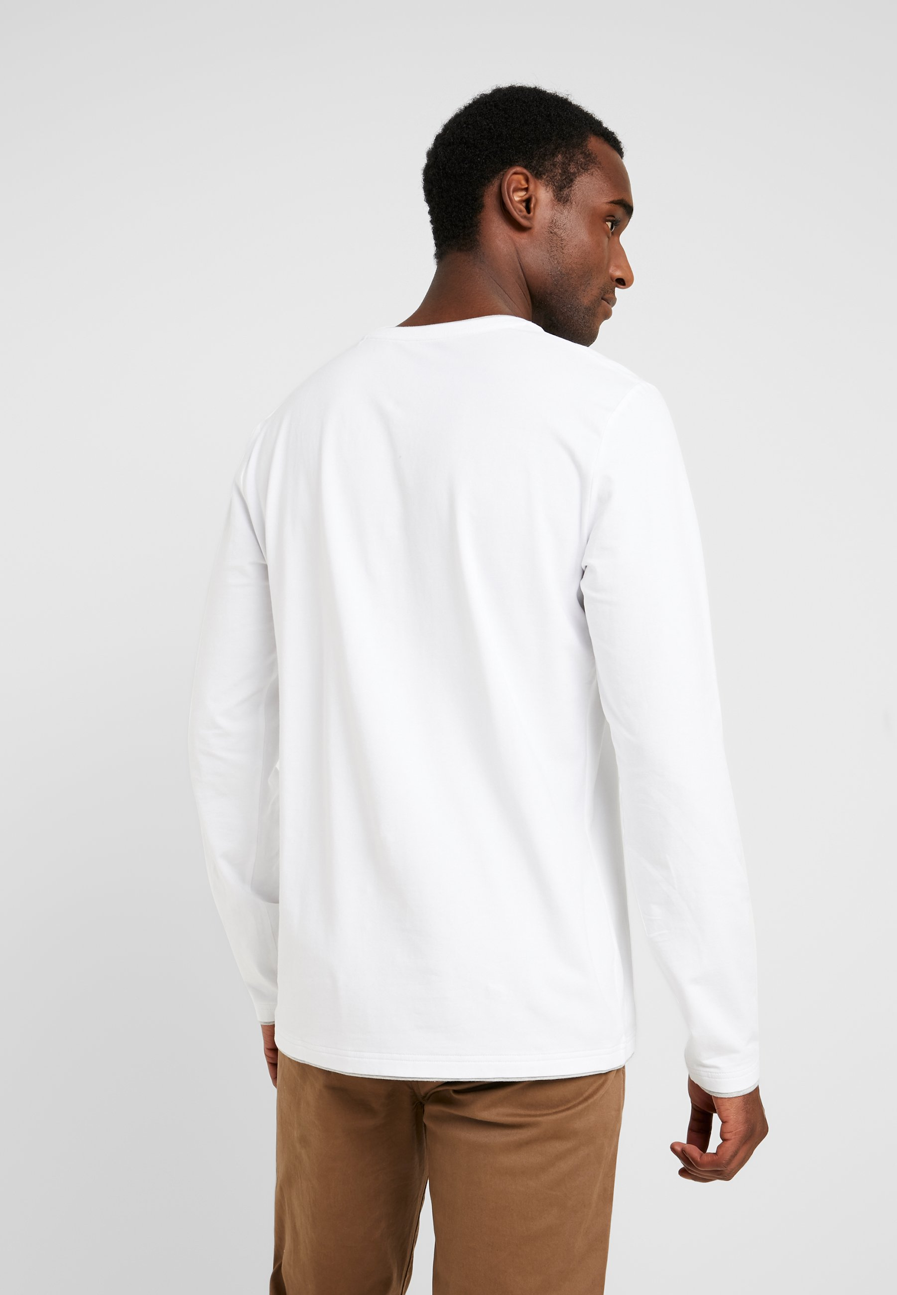 edc by Esprit Bluzka z długim rękawem - white