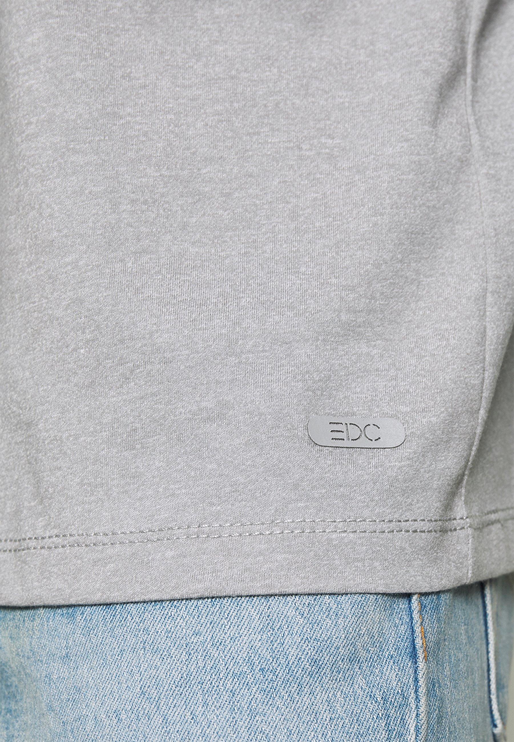 edc by Esprit GRINDLE - T-shirt basique - medium grey