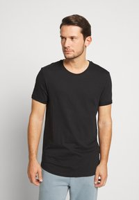 edc by Esprit - OCS 3PACK - T-shirt basique - black - 4