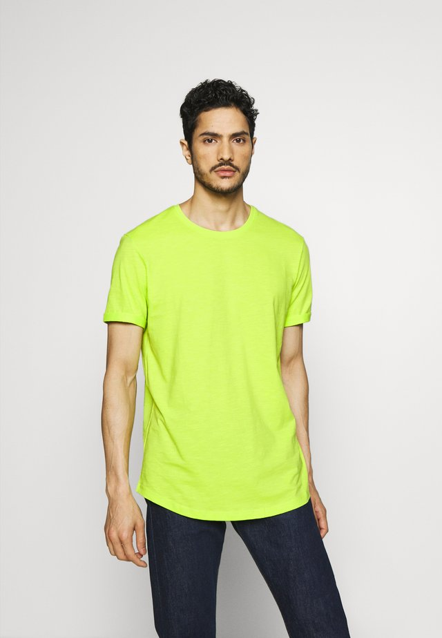 OCS F SLUB CNSS - T-shirts basic - bright yellow