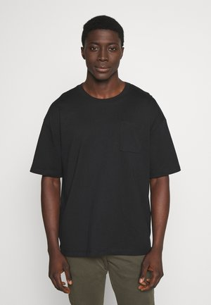 BOXY  - Basic T-shirt - black