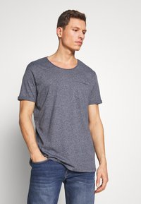 edc by Esprit - GRIND 2 PACK - T-shirt basic - navy - 1