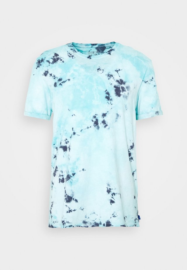 TIEDYE - Print T-shirt - light blue