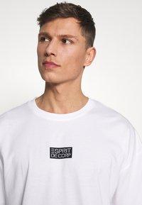 edc by Esprit - T-shirt imprimé - white - 4