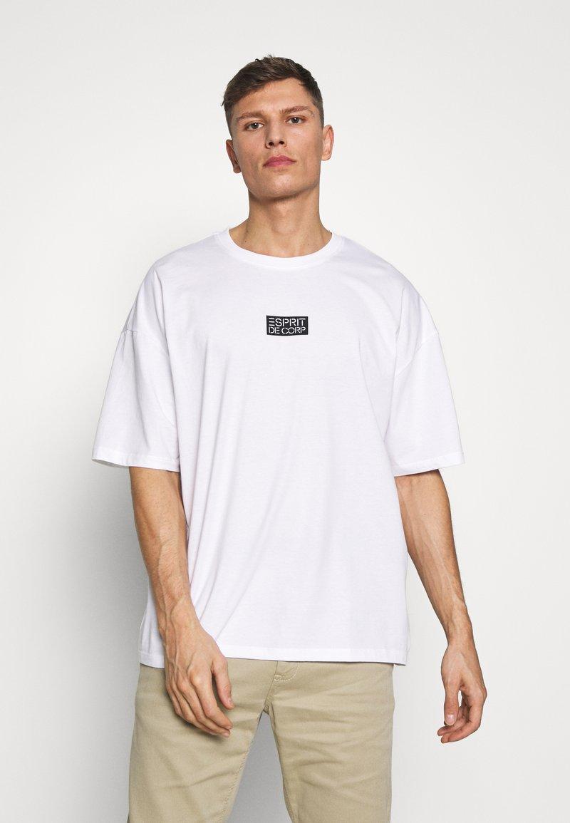edc by Esprit - T-shirt imprimé - white