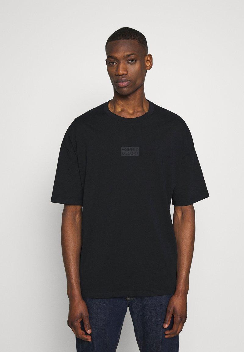 edc by Esprit - Camiseta estampada - black