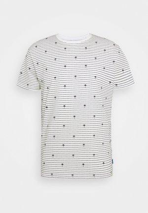 PALM - Print T-shirt - offwhite