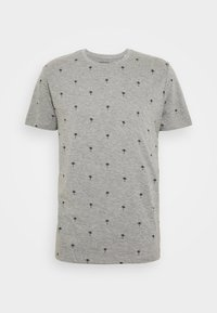 edc by Esprit - PALM  - Camiseta estampada - medium grey - 0