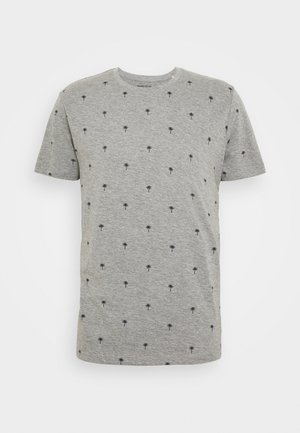PALM  - Printtipaita - medium grey