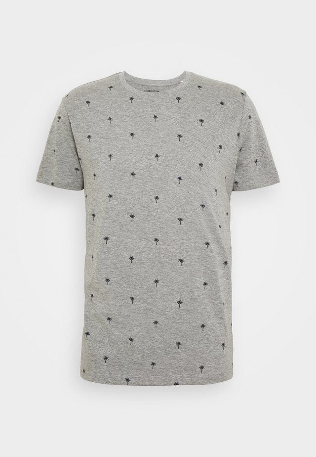 PALM  - T-Shirt print - medium grey