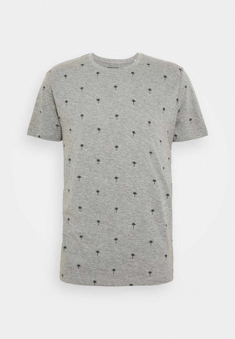 edc by Esprit - PALM  - Camiseta estampada - medium grey