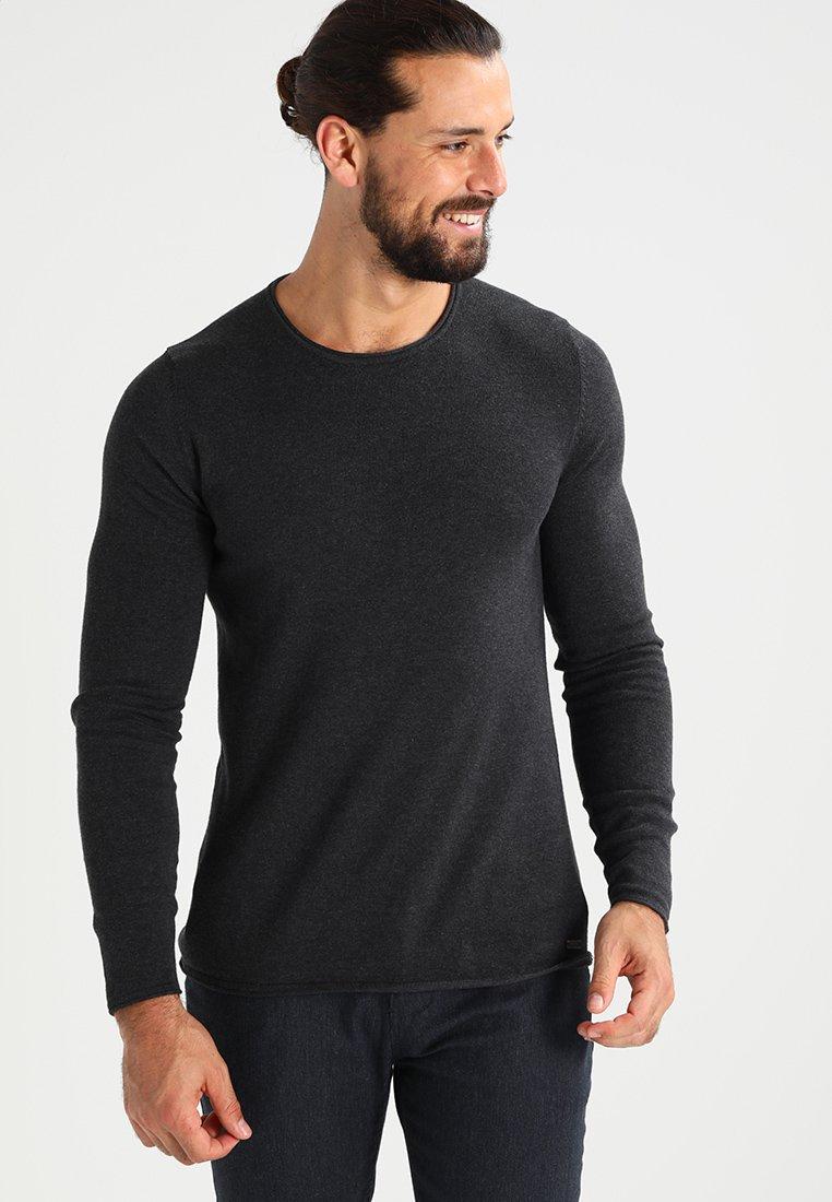 edc by Esprit - BASIC - Jersey de punto - dark grey