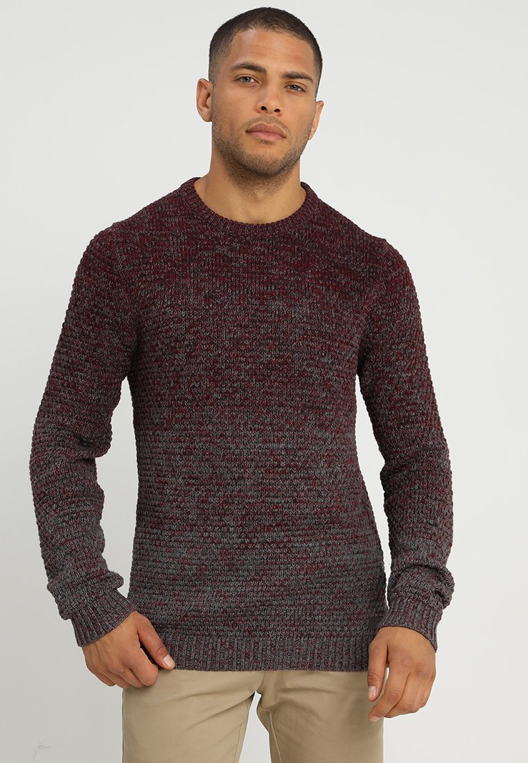 edc by Esprit - CHUNKY - Jumper - bordeaux red