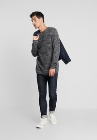 edc by Esprit - STRUCTURED - Jumper - black - 1